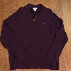 Southern Tide better sweater XXL deep purple